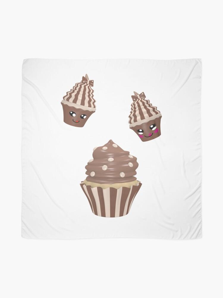 Alternative Ansicht von Schokoladen Cupcake Tuch