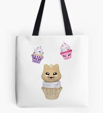 Cupcake mit Kätzchen Tasche