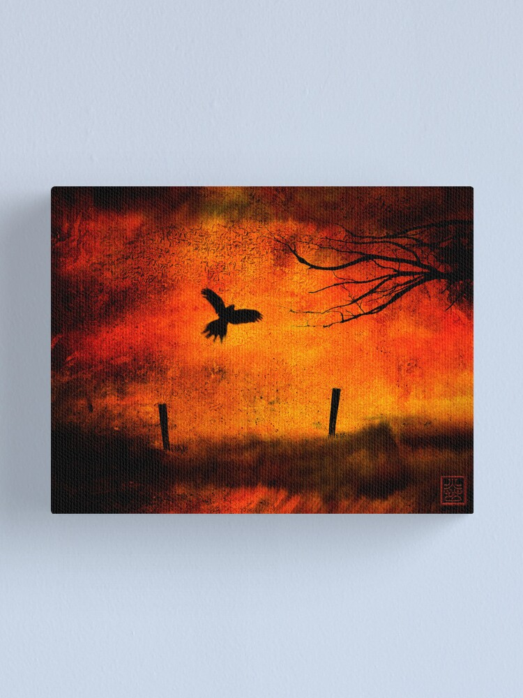 Alternate view of Wings Of Fire Canvas Print