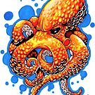 """Revenge of The Orange Octopus"" by dsilva"