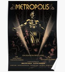 Metropolis alternative movie poster Poster