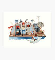 Captain Bernaidle Art Print
