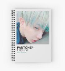 Cuaderno de espiral Mint Hoseok - Pantone.