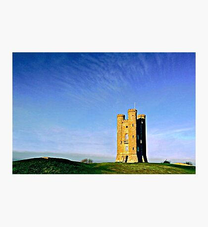 Broadway Tower, colour version. Photographic Print