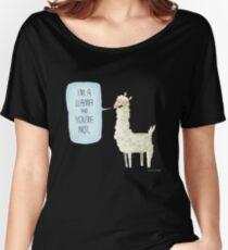 I'm a llama Women's Relaxed Fit T-Shirt