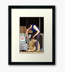 Shearer Framed Print