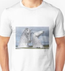 The Kelpies gifts , Helix Park, Scotland Slim Fit T-Shirt