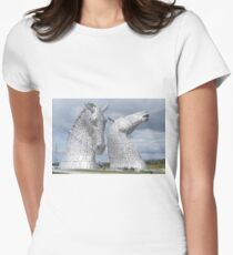 The Kelpies gifts , Helix Park, Scotland Women's Fitted T-Shirt