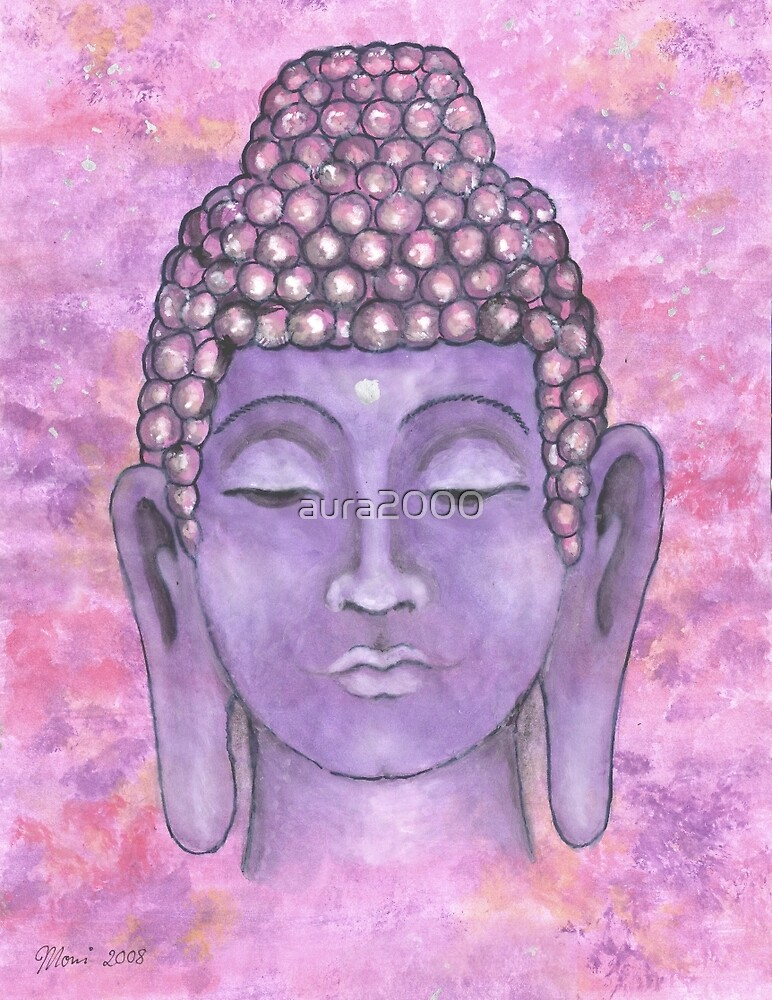 Buddha Painting by aura2000