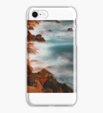 beautiful rocky water hills iPhone Case/Skin