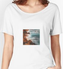 beautiful rocky water hills Women's Relaxed Fit T-Shirt