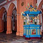 Evangelischer Beichtstuhl für Frauen von Elzbieta Fazel