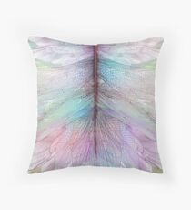 The Gleam of Dragonflies Throw Pillow