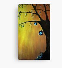 Evil  Eye Beat tree Canvas Print