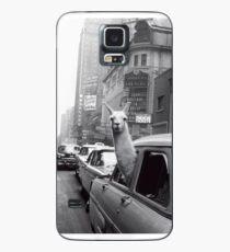 Funda/vinilo para Samsung Galaxy Nueva York Llama