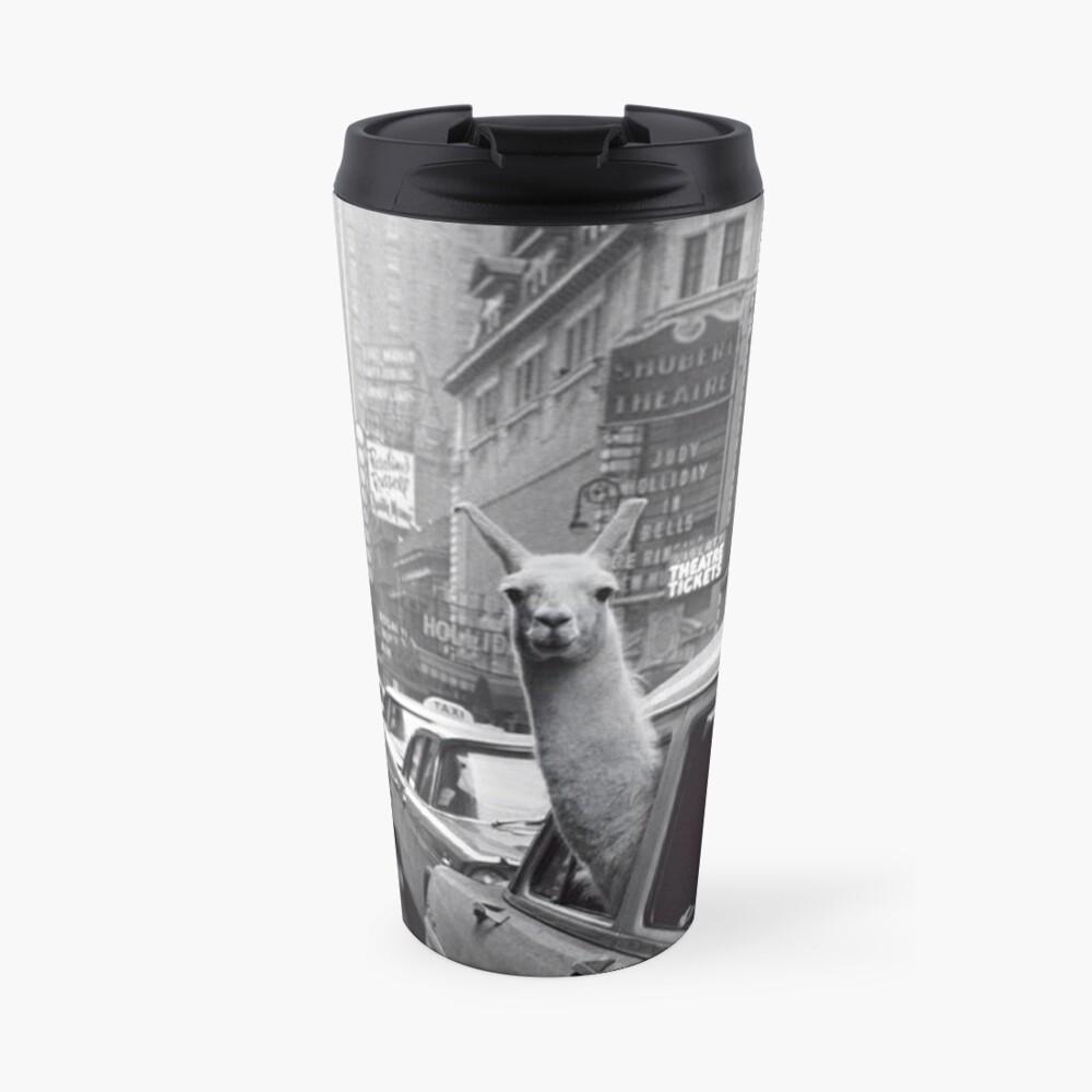 New York Llama Travel Mug