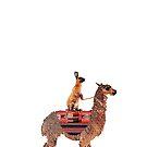 Rabbit Lama by ToastCrumbs