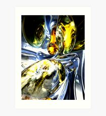 Lost in Space Abstract Art Print