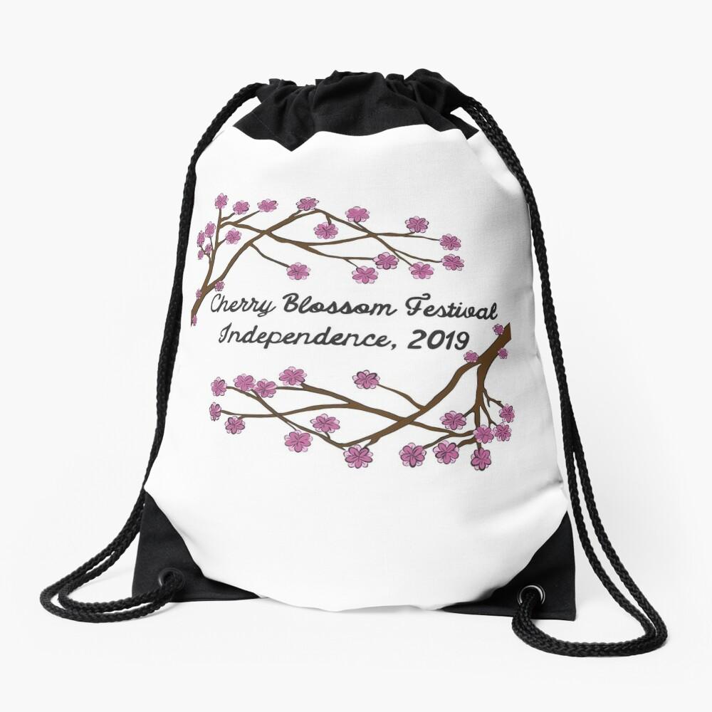 Cherry Blossom Fest 2019 Drawstring Bag