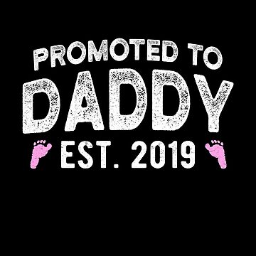 Promoted to Daddy It's A Girl New Dad Pregnancy Announcement by JapaneseInkArt