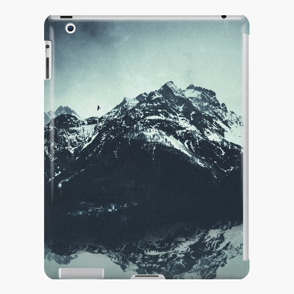 In the Shadow of the Mountains iPad Case & Skin