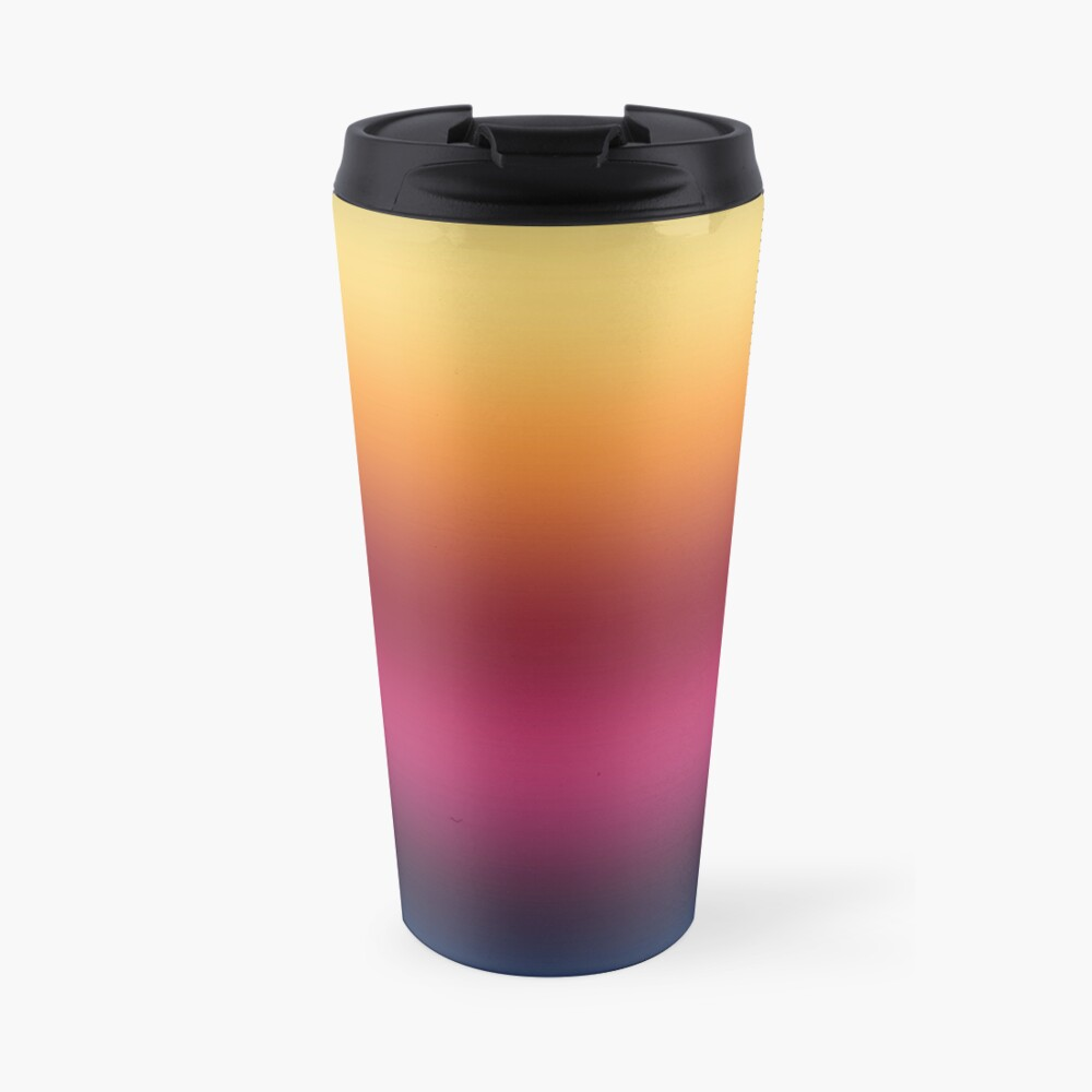 Linear Gradient Travel Mug
