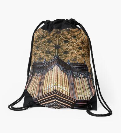 Organ Pipes Drawstring Bag