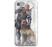 Alistair and Dog iPhone Case/Skin