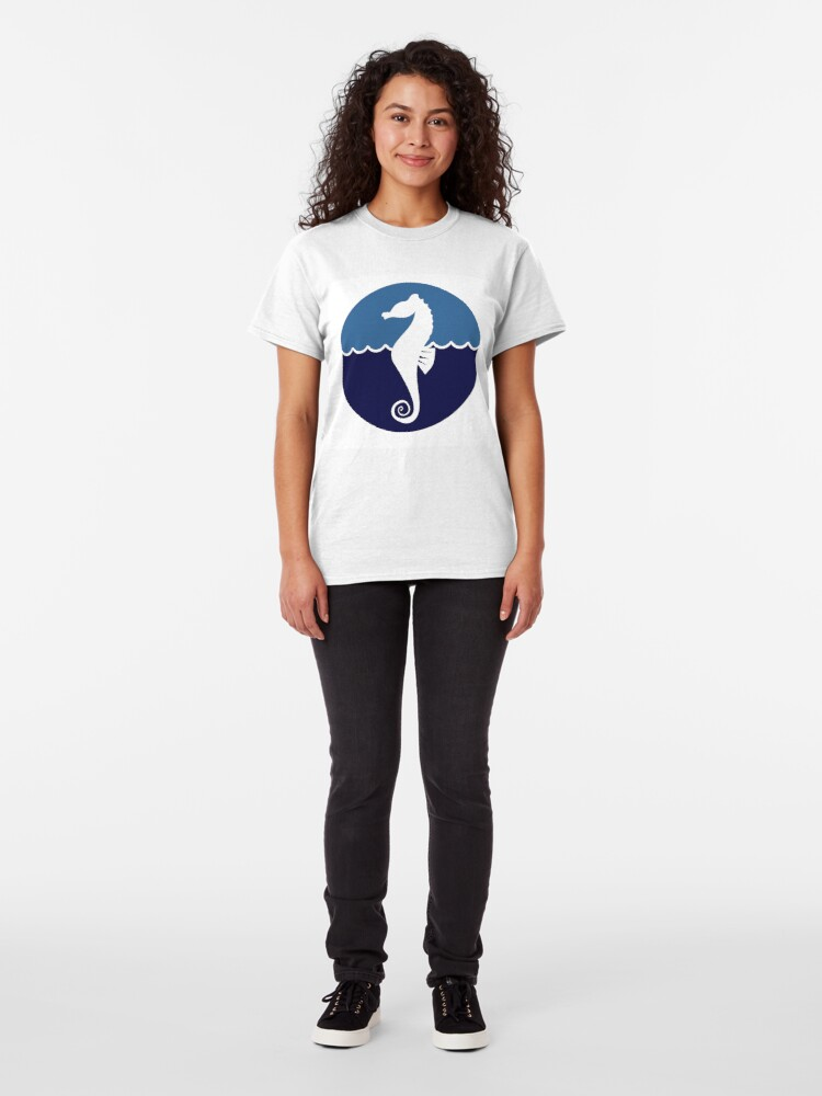 Alternate view of Seahorse Classic T-Shirt