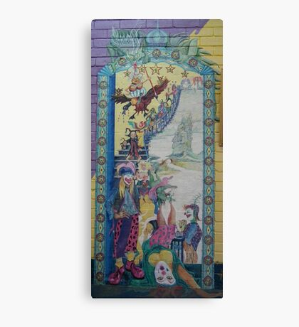 Opening of Scally Art - Mural Canvas Print