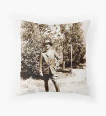 Granddad Kempton Throw Pillow
