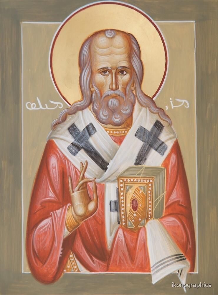 St Milos (Miles) of Susa by ikonographics