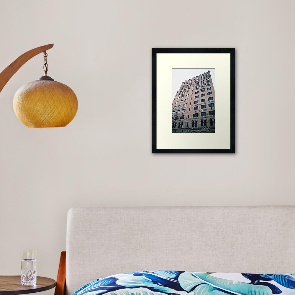 """Colonial Mutual Life"" Framed Art Print"