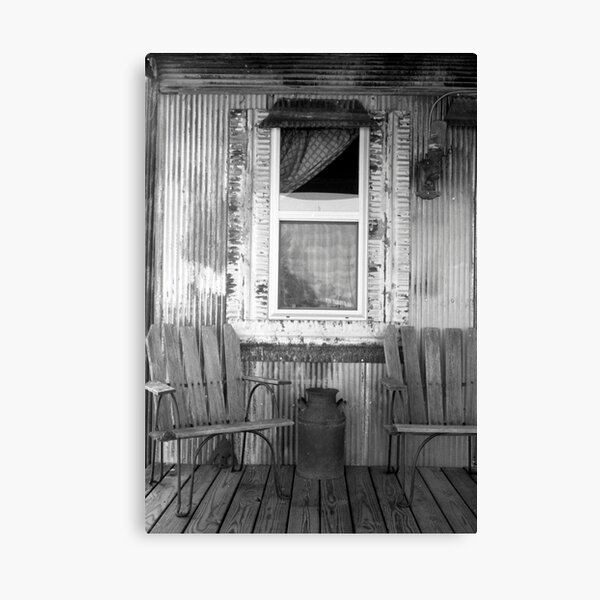 Shack porch Canvas Print