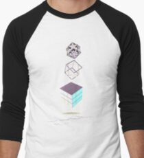 Geometric Shapes on Old Paper T-Shirt