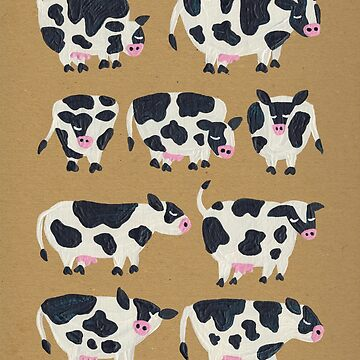 Cow Collection – Kraft by catcoq