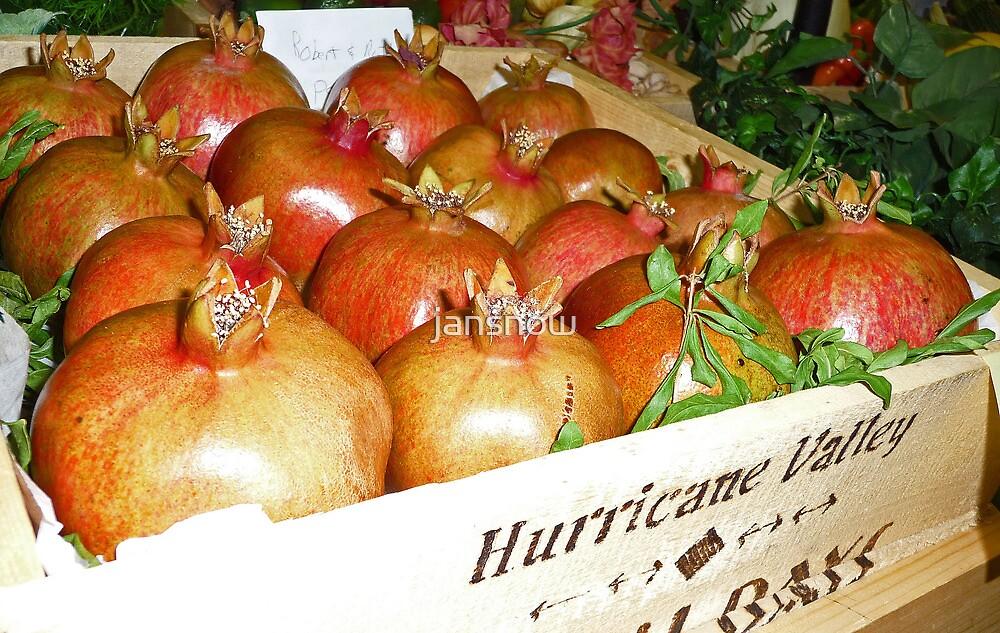 Pomegranate Time © by jansnow