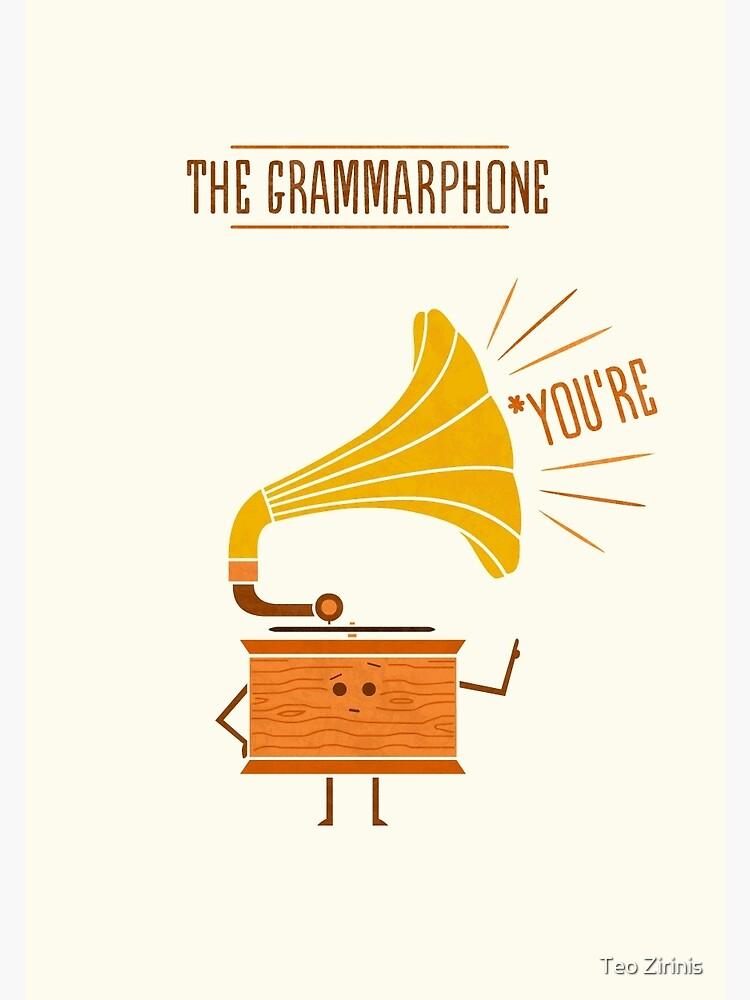 Grammarphone by theodorezirinis