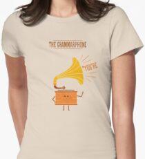 Grammarphone Women's Fitted T-Shirt
