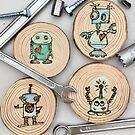 mini robots  by CowshedUK