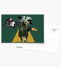 FLCL Guitar Postcards