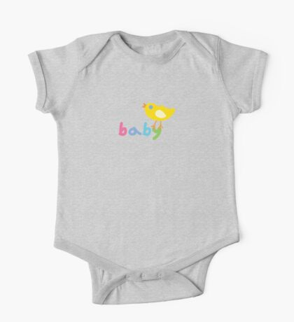 Baby and chick t shirt onsie  Kids Clothes