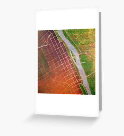 The River is the Portal #1 Greeting Card