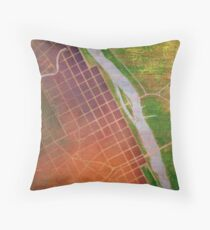 The River is the Portal #1 Throw Pillow