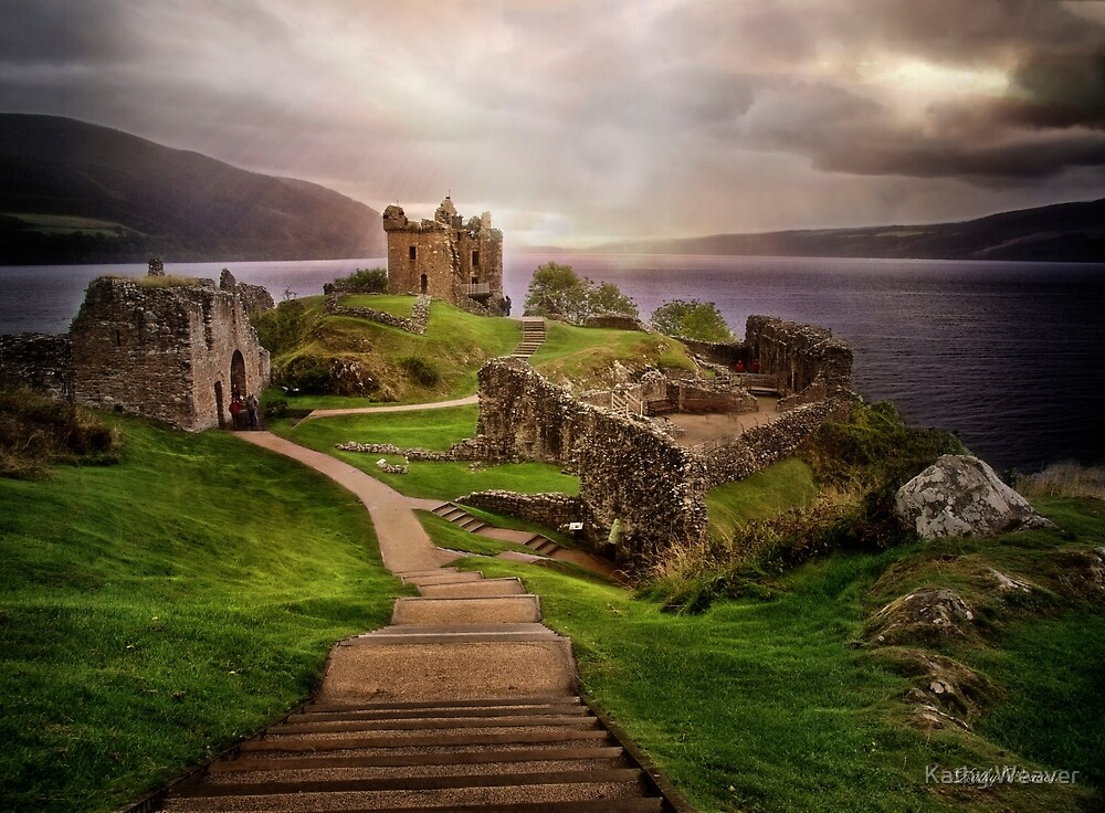 Urquhart Castle von Kathy Weaver