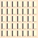«Nichos de pared - Rectángulos arquitectónicos de Op Art de mediados de siglo» de bitart