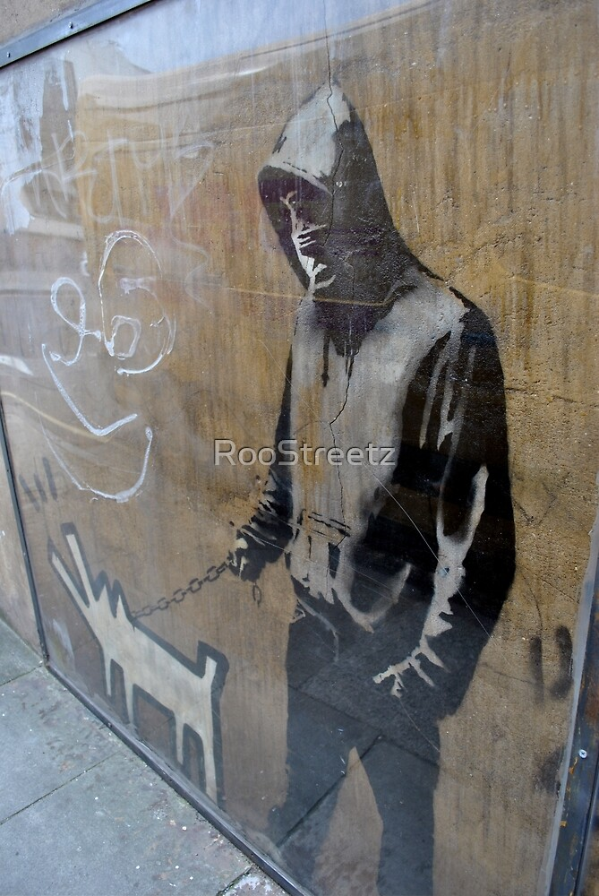 Banksy, is this a self portrait?   by RooStreetz