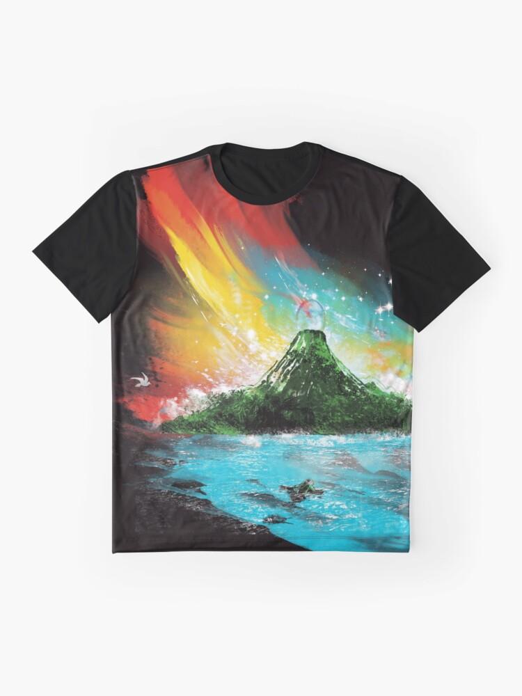 Alternate view of sunset on koholint Graphic T-Shirt