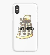 I Am Human iPhone Case/Skin