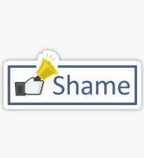 Shame Sticker
